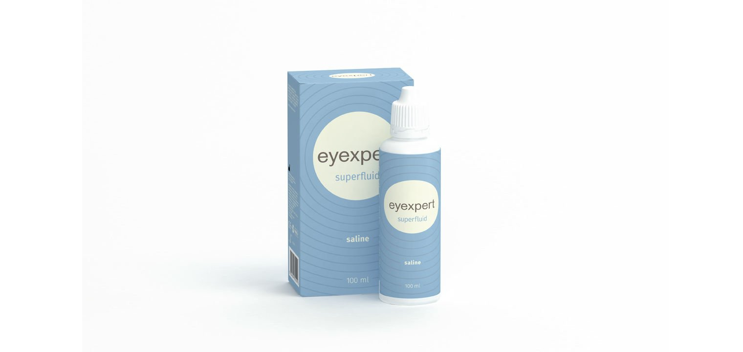 Eyexpert Superfluid saline 100ml