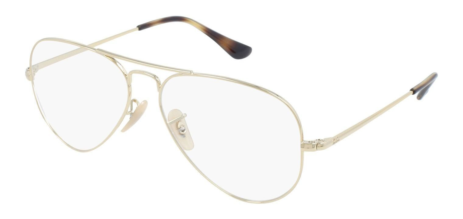 Ray-Ban 0RX6489 Golden