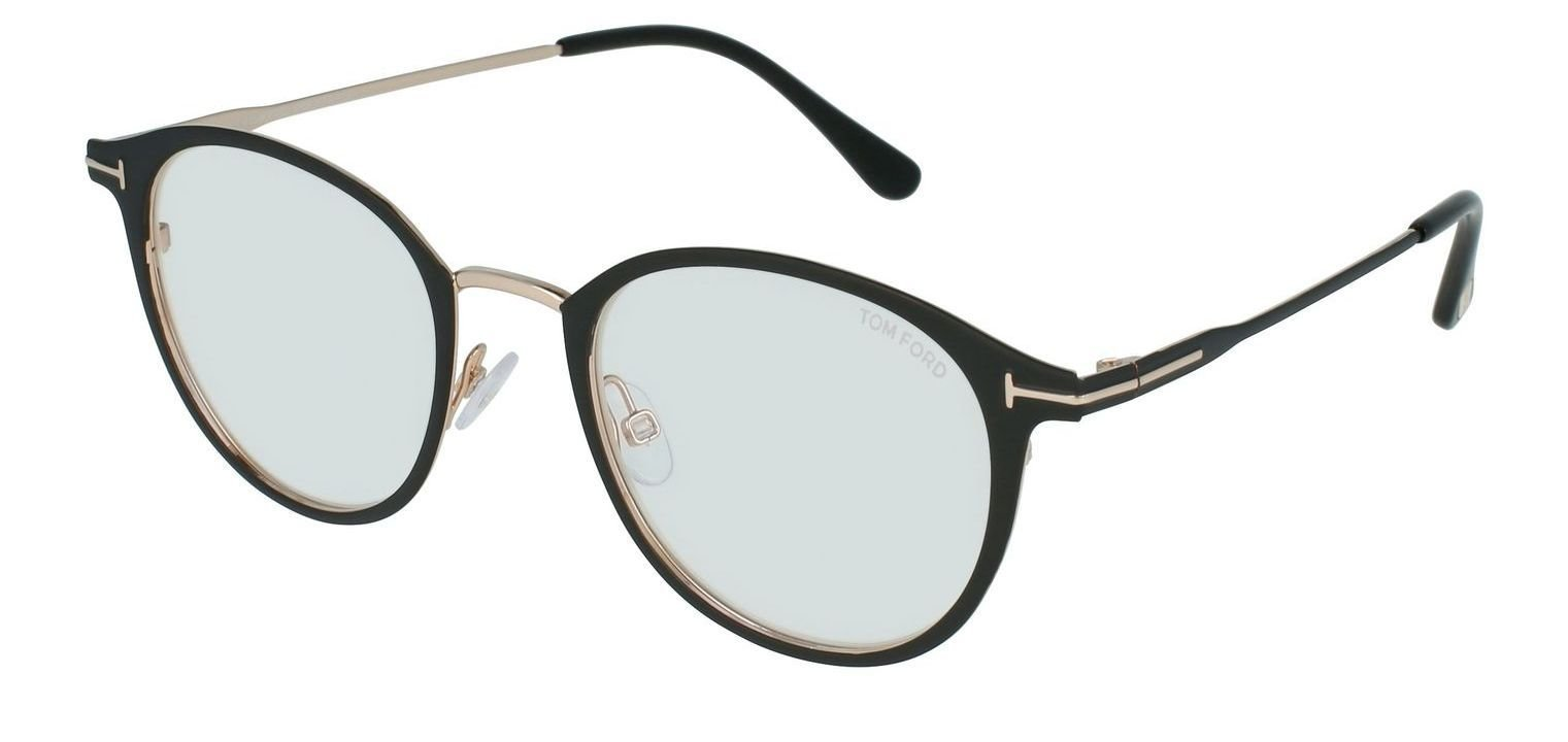 Tom Ford FT5528-B Mattschwarz