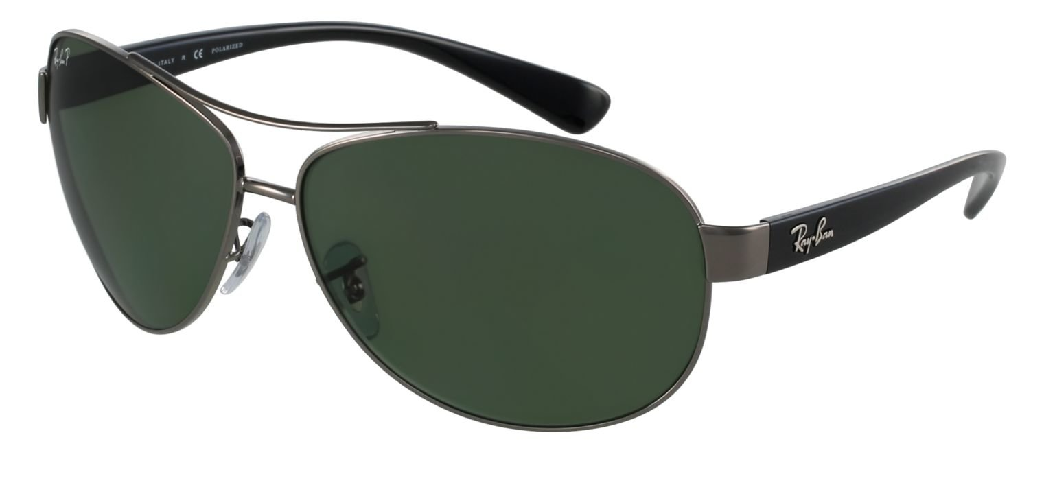 Ray-Ban RB3386 Sillber