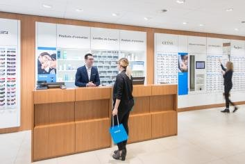 Votre opticien à Sion - magasin Visilab