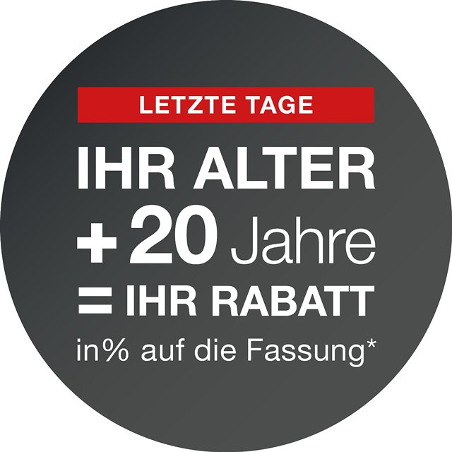Altersrabatt-Angebot