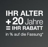 Altersrabattangebot